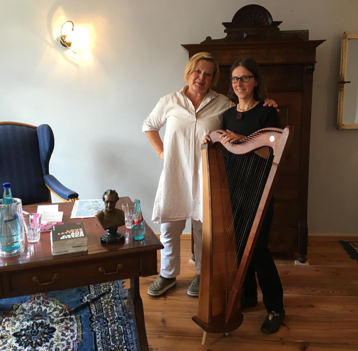 Maria Herrlich und Karin Reitz