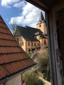 Blick aus dem Dachstübchen