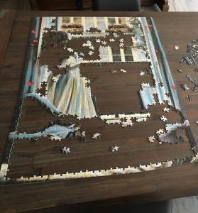 Puzzle Fortschritt